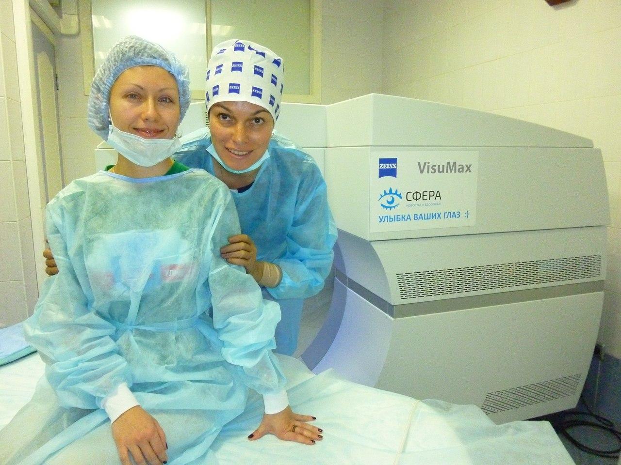 Екатерина: Делала операцию SMILE — безболезненно, с минус 8 диоптрий на следующий день вижу все :-)